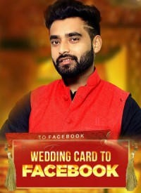 Wedding Card To Facebook